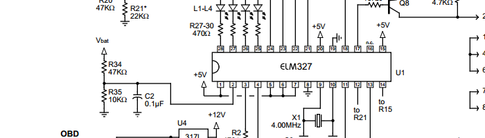 OBD2 ELM327 to RS232 Linux