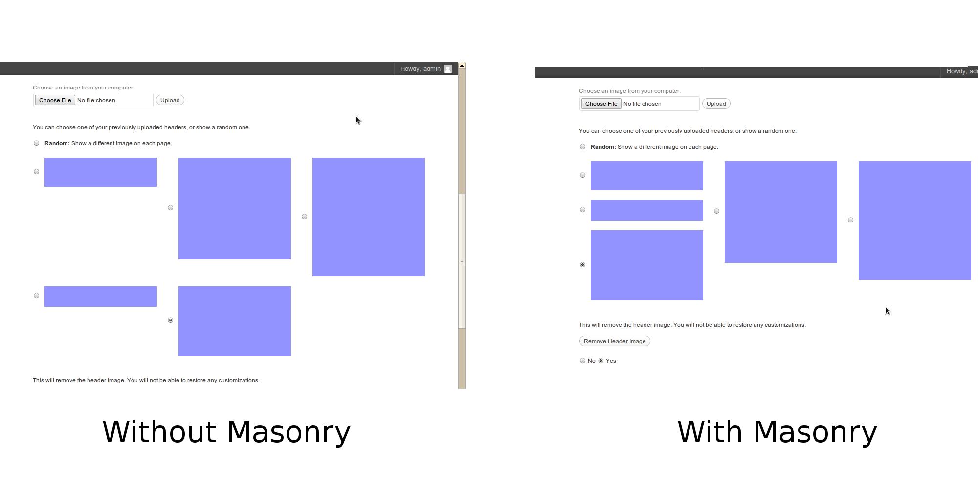 jQuery Masonry in WordPress